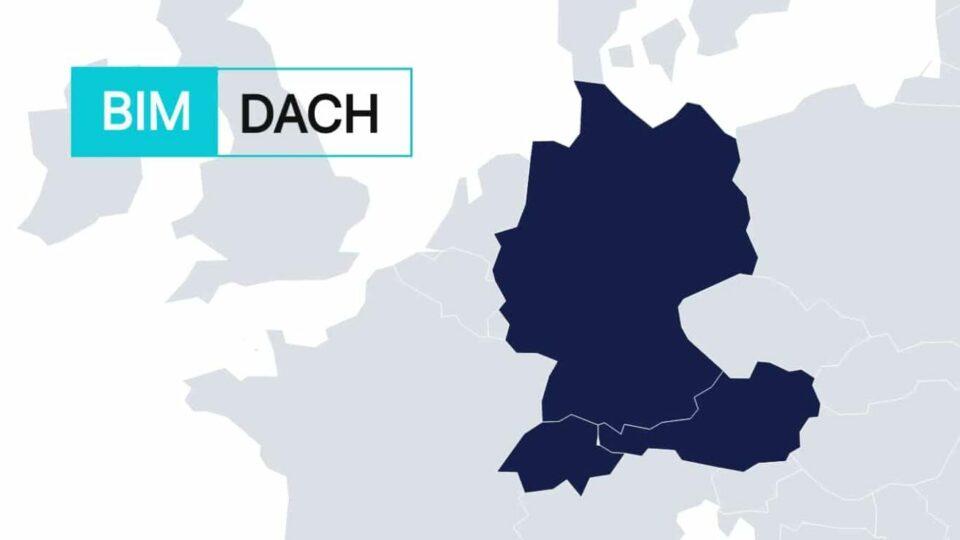 Dach region shown on a map